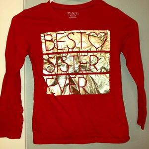 Best Sister Ever girls shirt